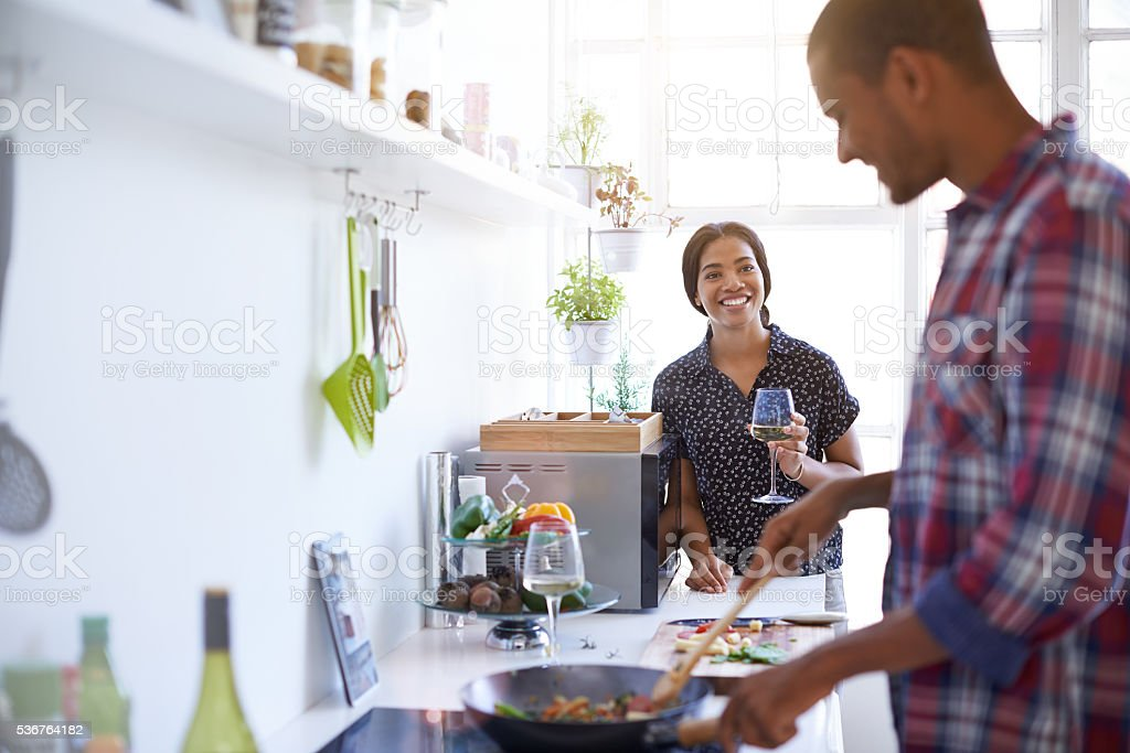 Ready for an amazing meal? stock photo