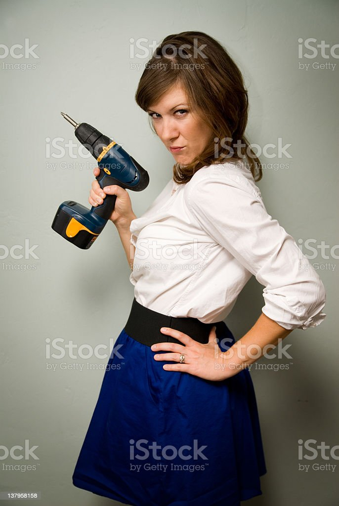 Ready for anything stock photo