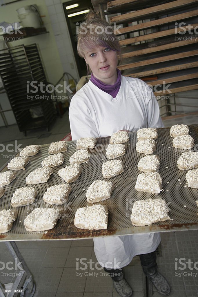 Ready for Baking royalty-free stock photo