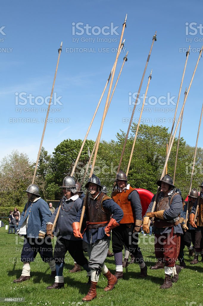 Ready for battle royalty-free stock photo