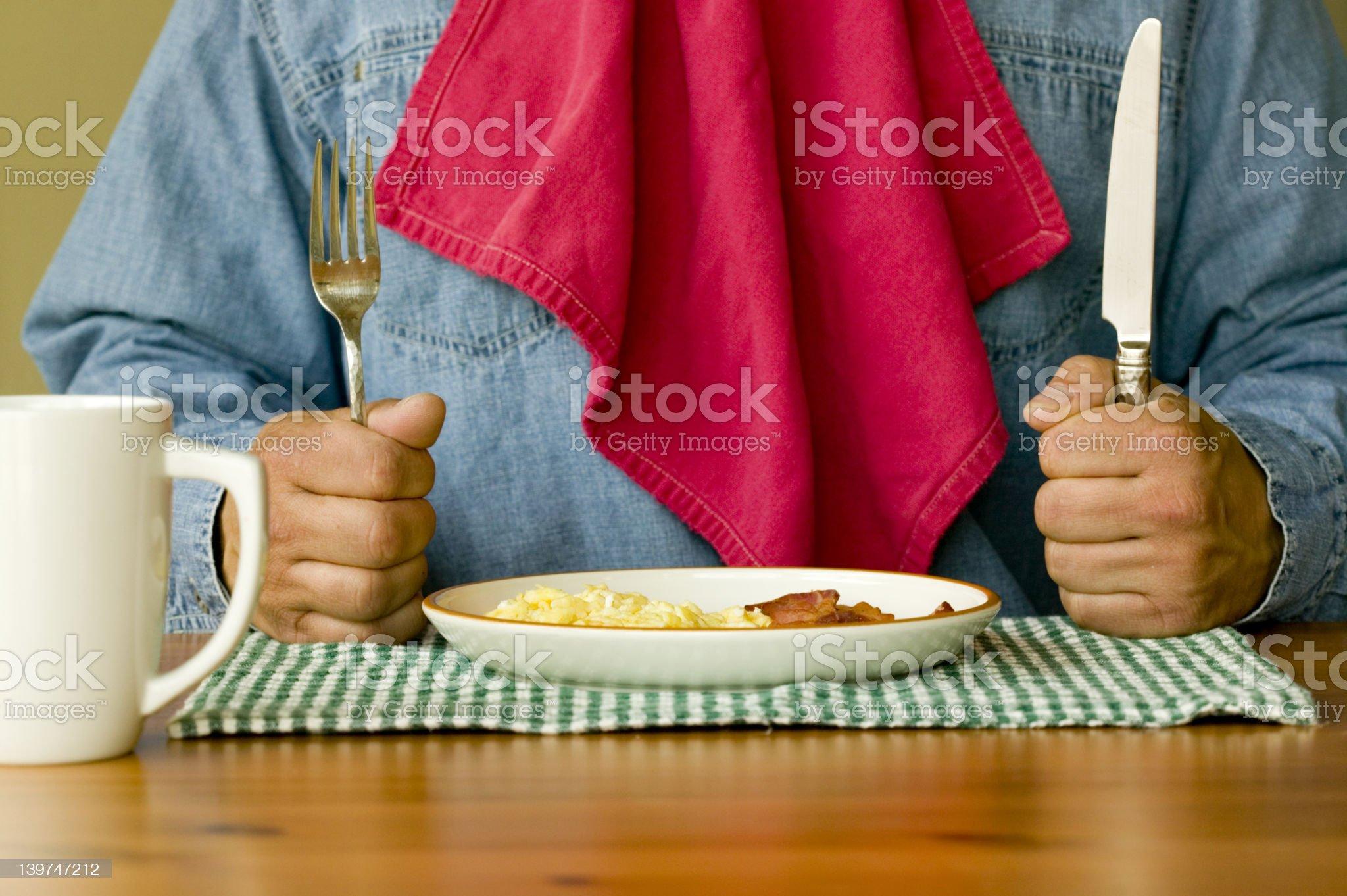 Ready For Breakfast royalty-free stock photo