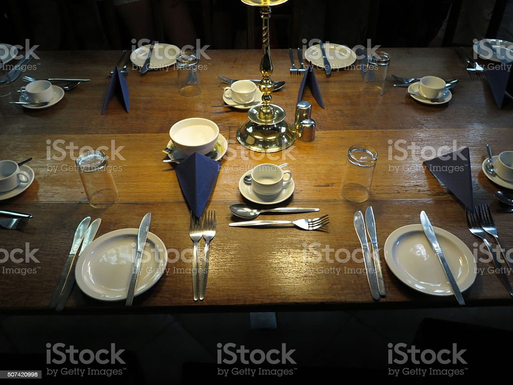Ready for breakfast stock photo