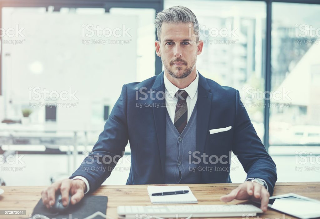 Ready for business. Bring it royalty-free stock photo