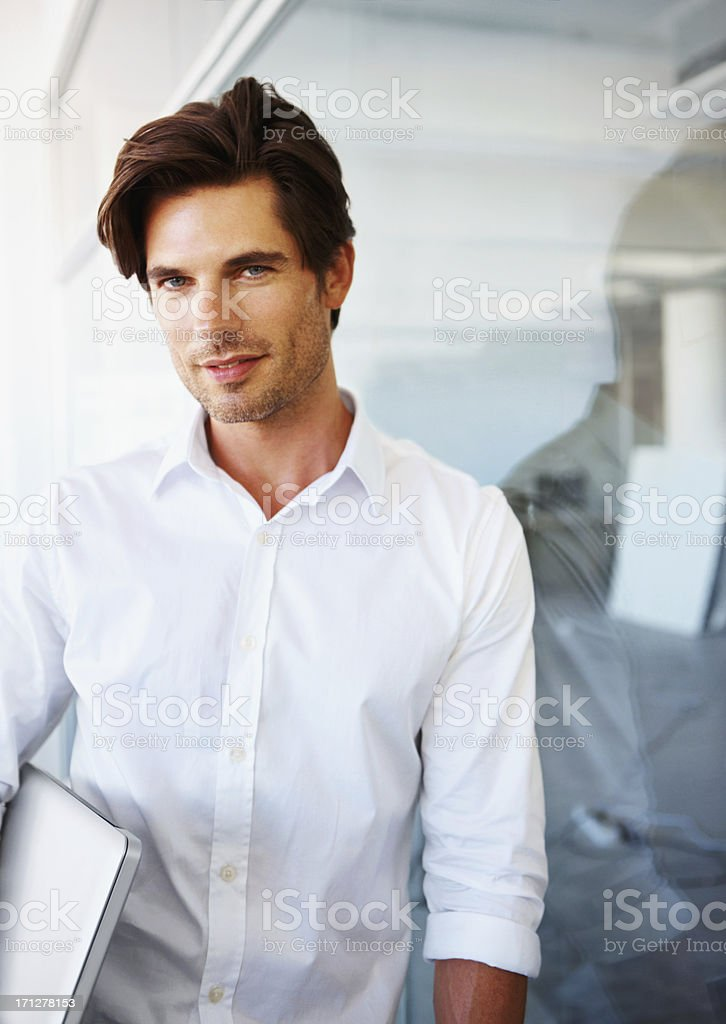 Ready for business royalty-free stock photo