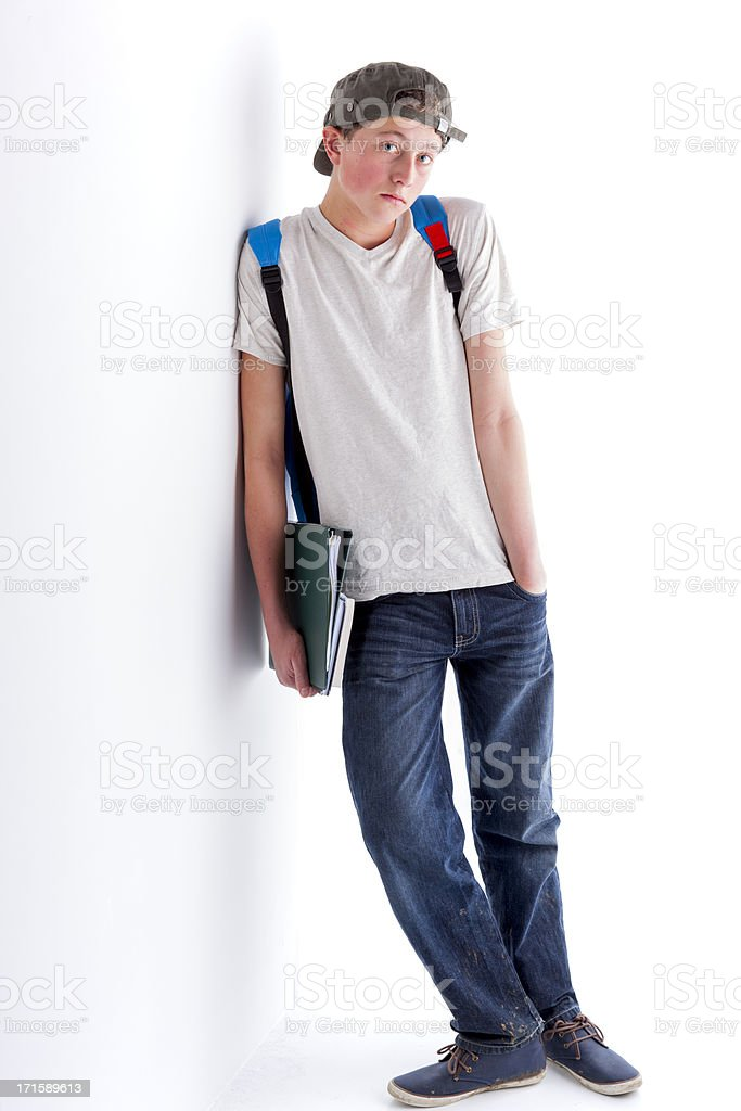 Ready For Class royalty-free stock photo