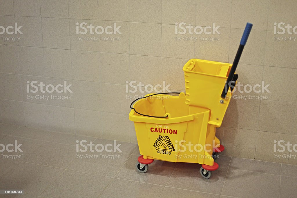 ready for cleaning stock photo