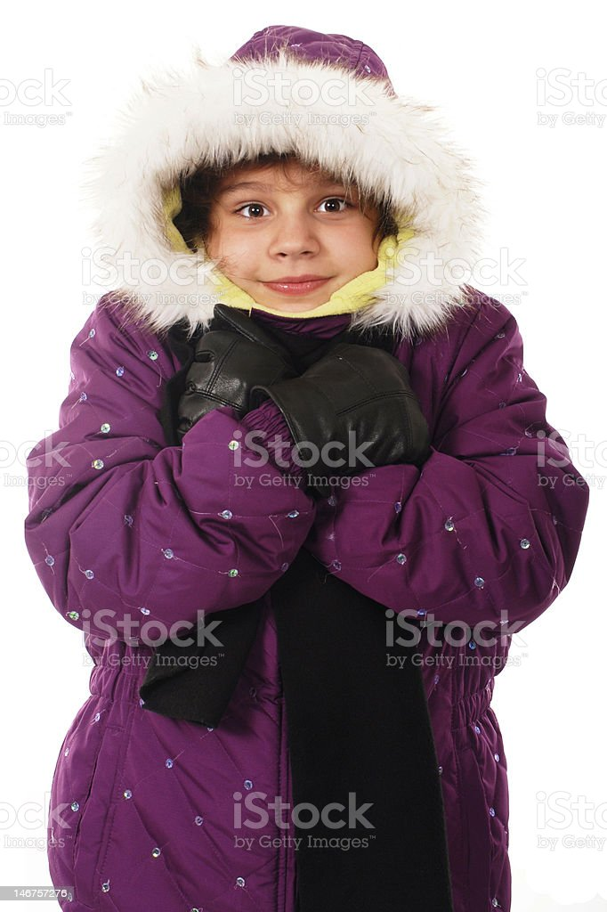 Ready for Cold royalty-free stock photo