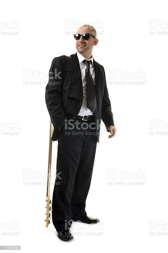 Ready for concert royalty-free stock photo
