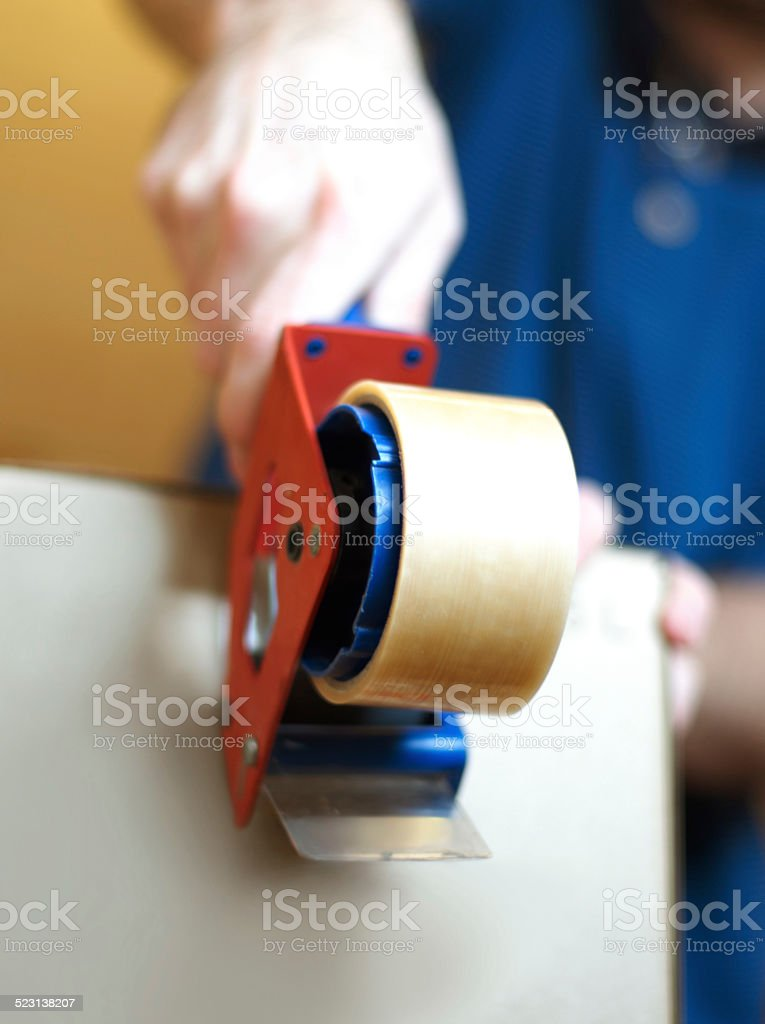 Ready for delivery stock photo