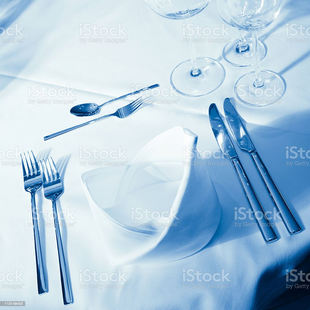 Ready for Dinner royalty-free stock photo