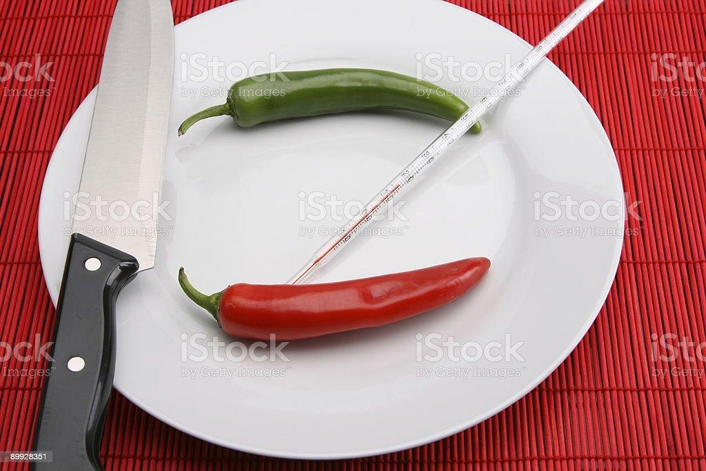 Ready for Dinner stock photo