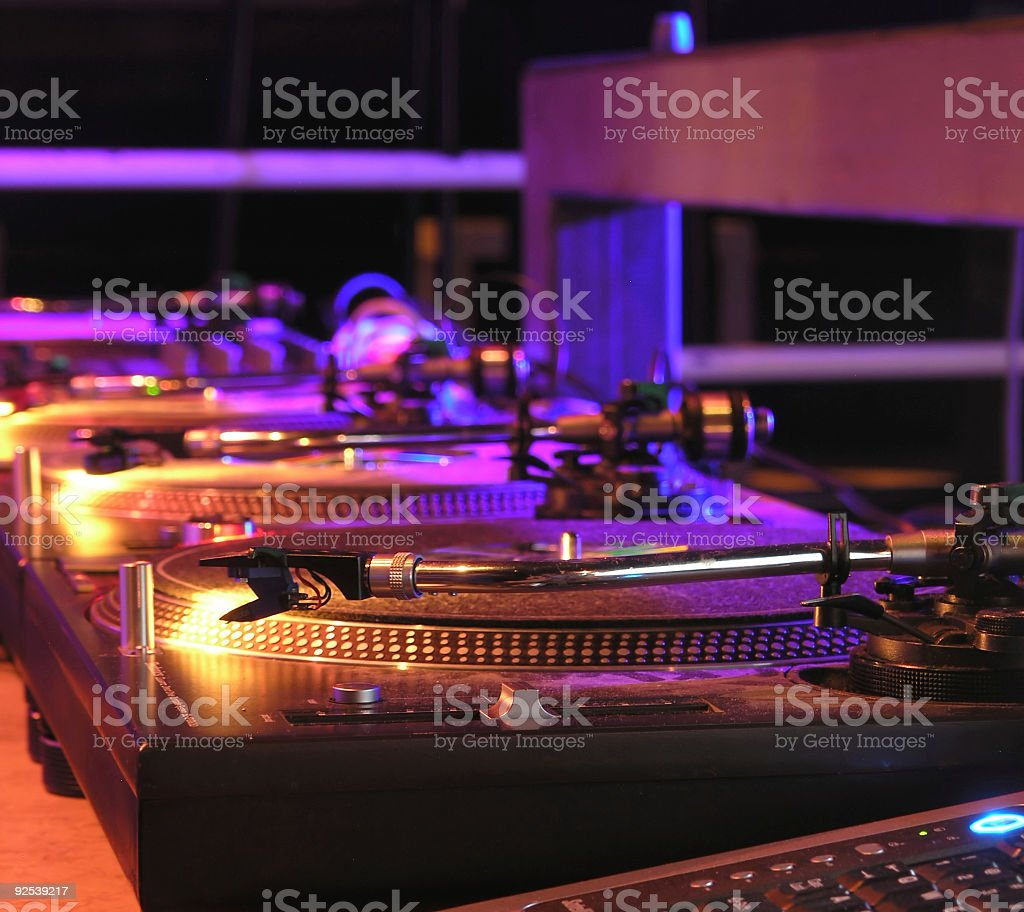 Ready for DJ's stock photo