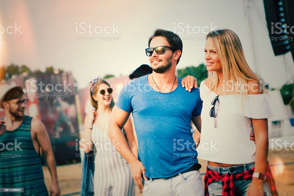 Ready for festival stock photo