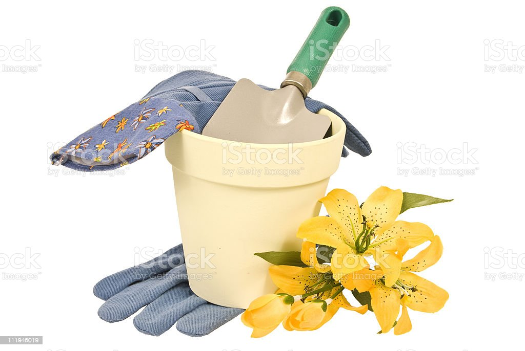 Ready For Gardening royalty-free stock photo