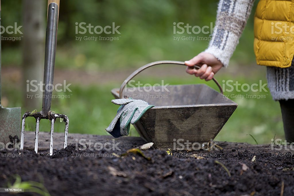 Ready for gardening stock photo