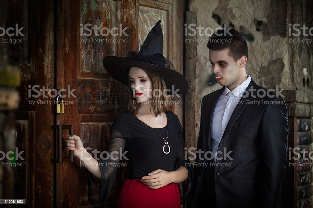 Ready for Halloween Party stock photo