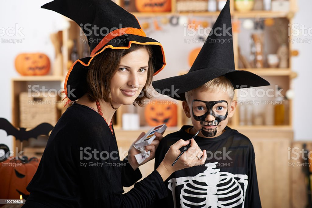 Ready for Halloween stock photo