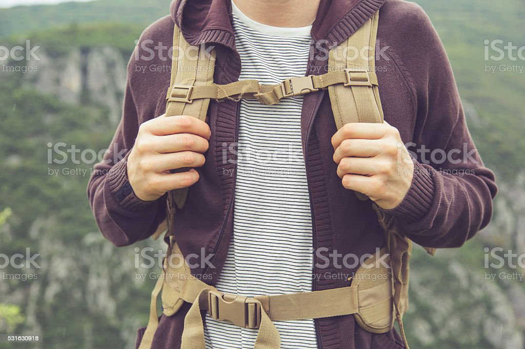 Ready For Hiking stock photo