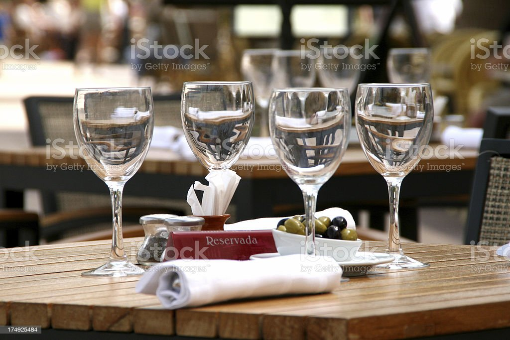 Ready for lunch royalty-free stock photo