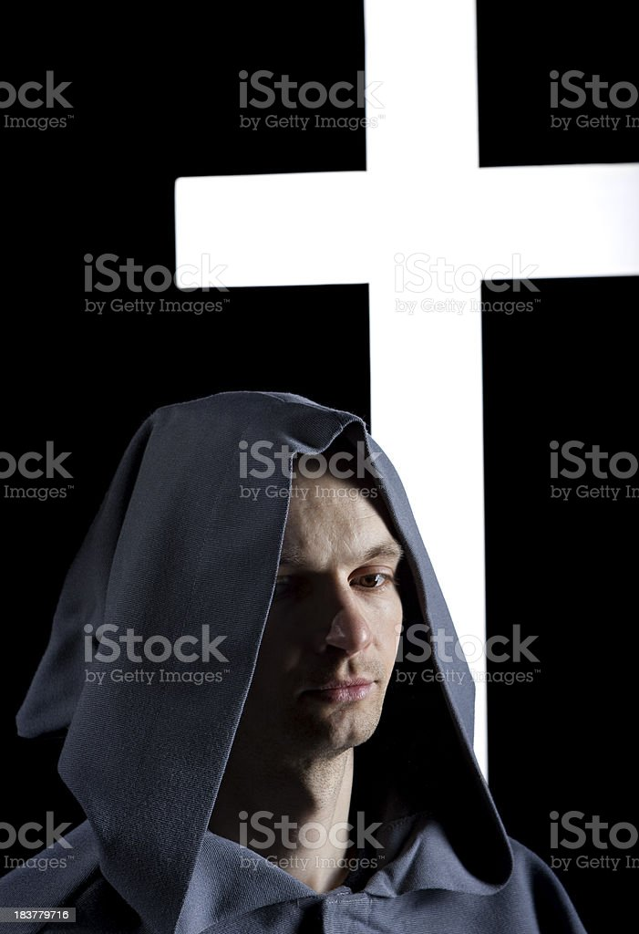 ready for monks life stock photo