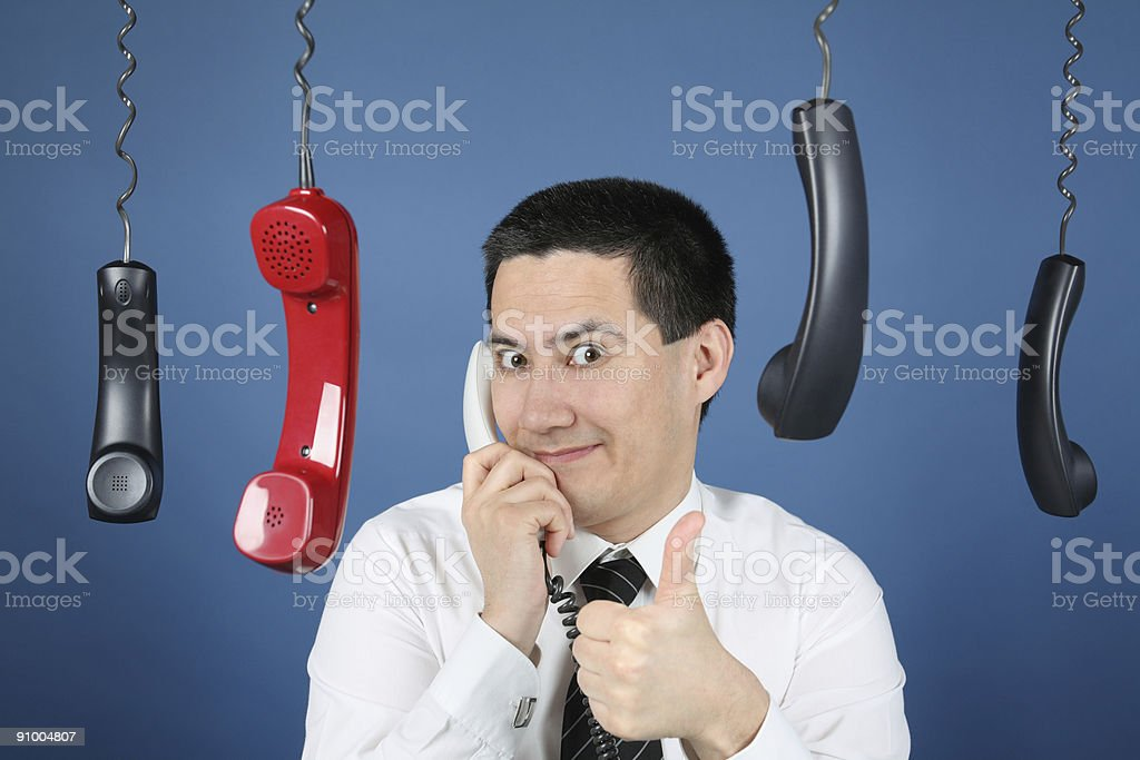 Ready for Phone royalty-free stock photo