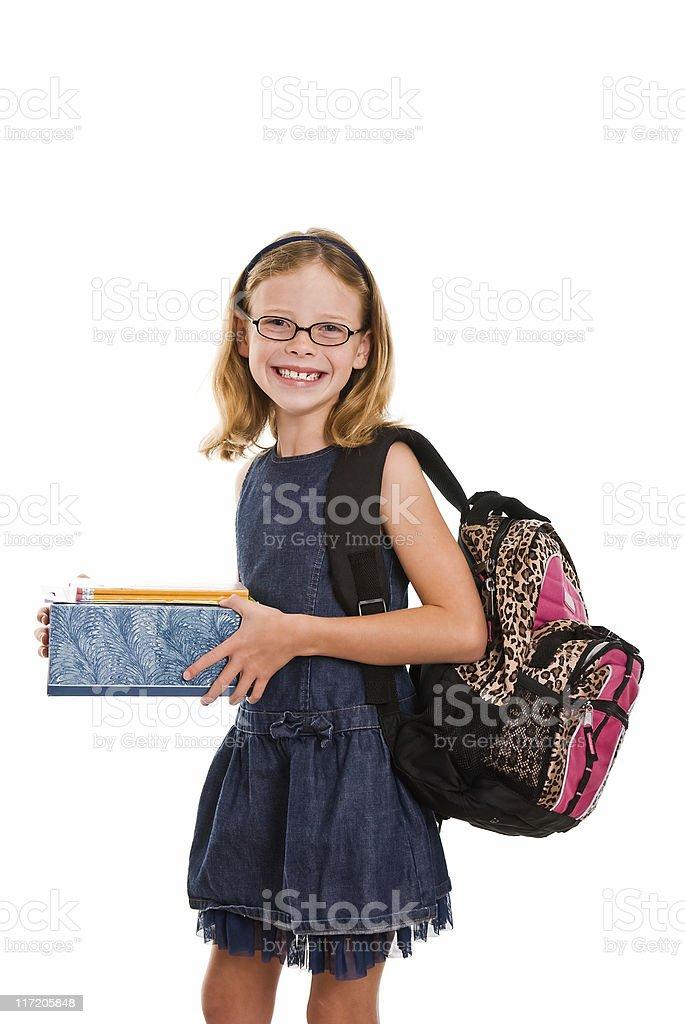 Bereit für die Schule Lizenzfreies stock-foto