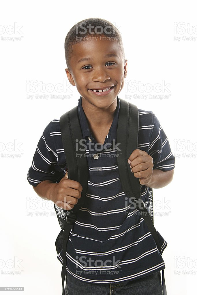 Ready for School royalty-free stock photo
