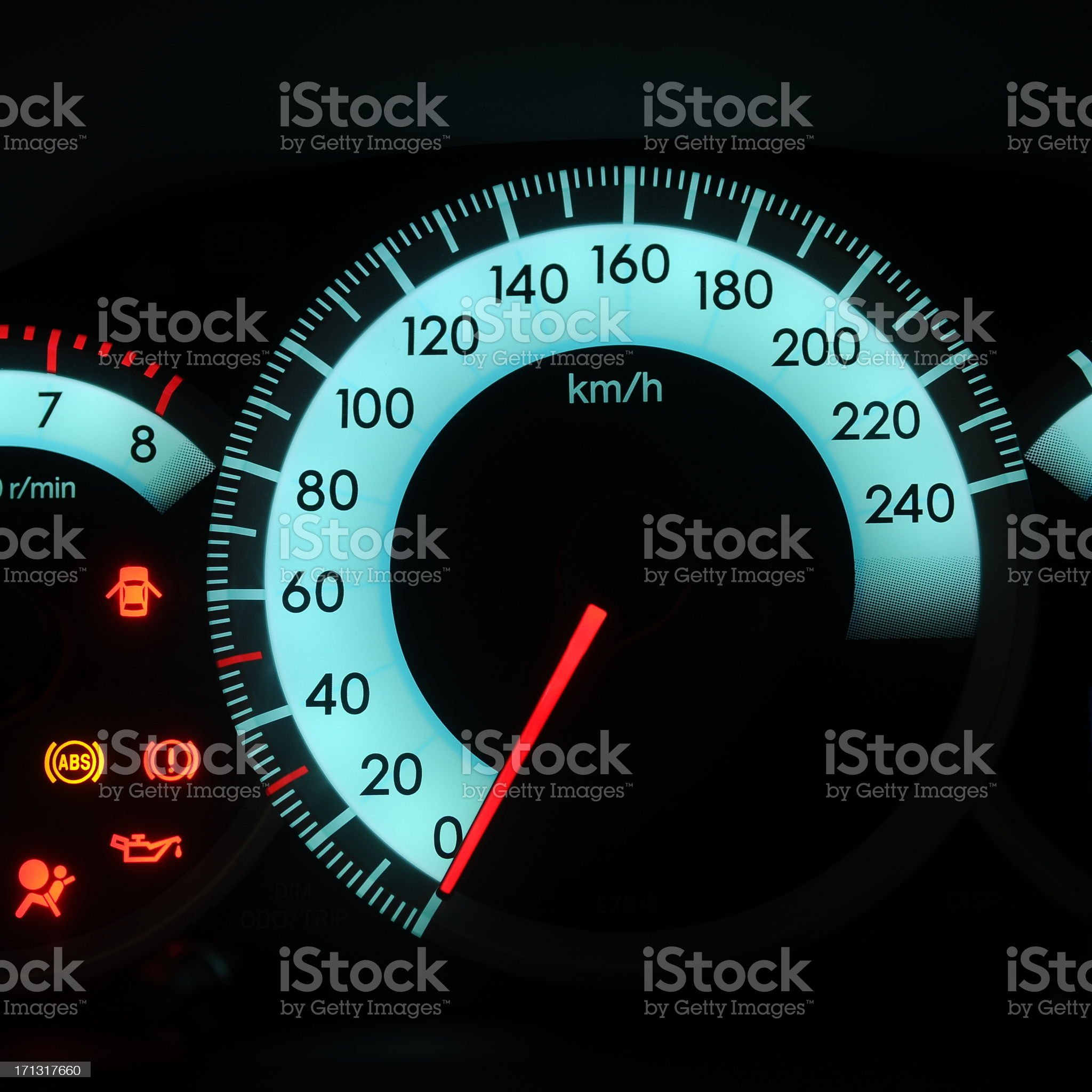 Ready for speed royalty-free stock photo