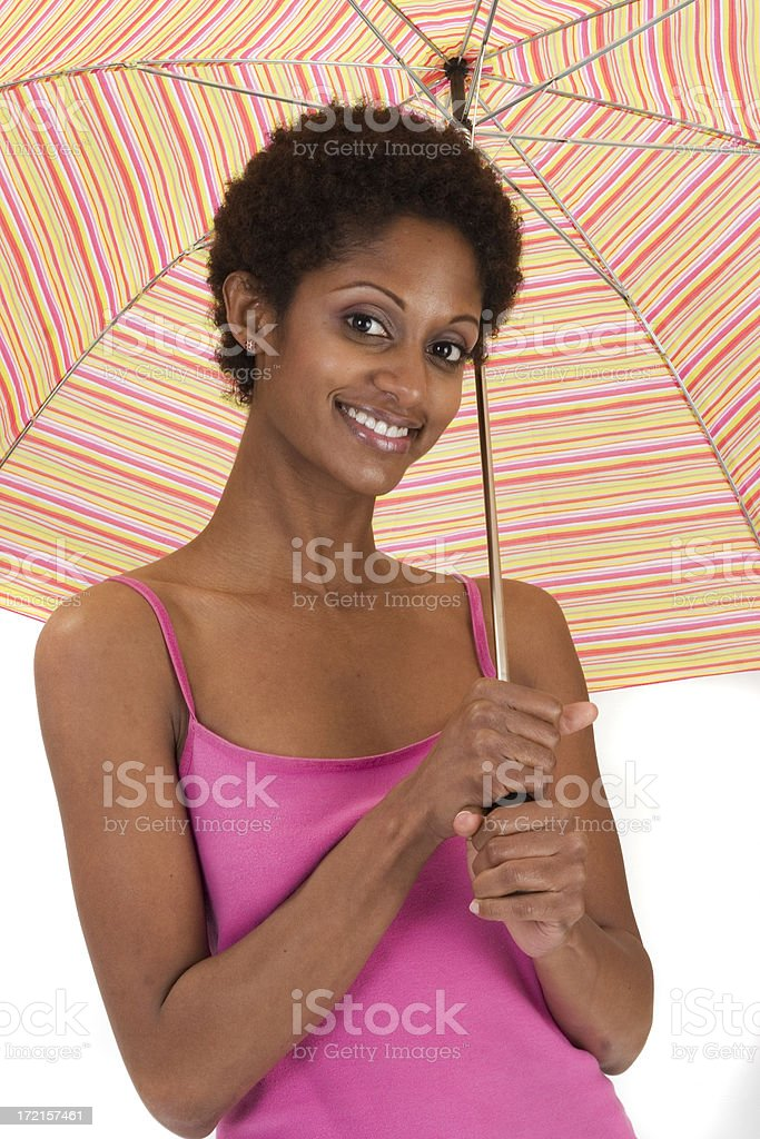 ready for springtime showers stock photo