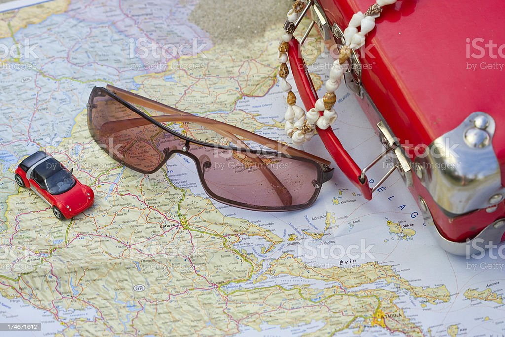 Ready for summer holidays royalty-free stock photo