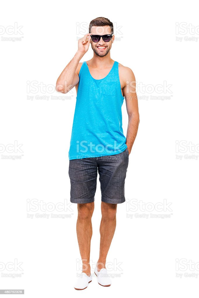 Ready for summer vacation. stock photo