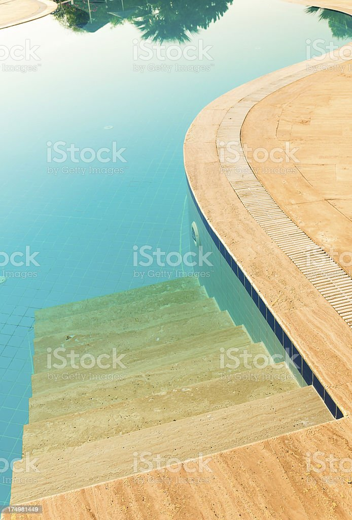 Ready for Swim royalty-free stock photo
