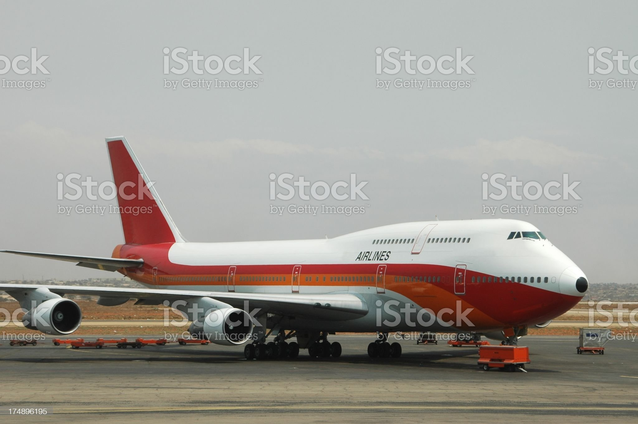 Ready for takeoff royalty-free stock photo