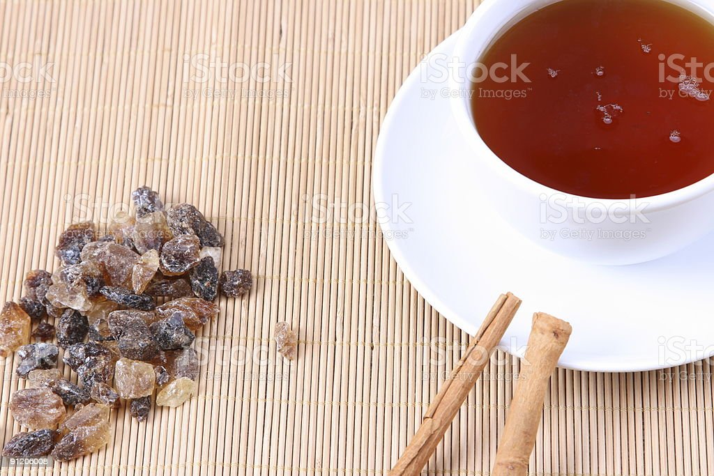Ready for Tea royalty-free stock photo