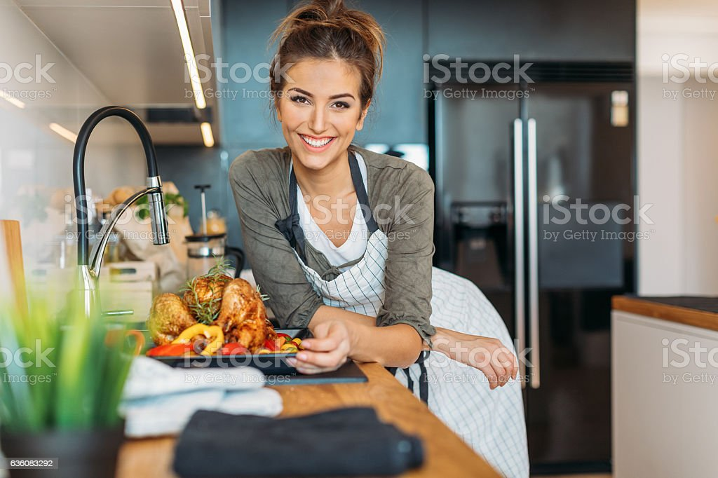 Ready for Thanksgiving stock photo