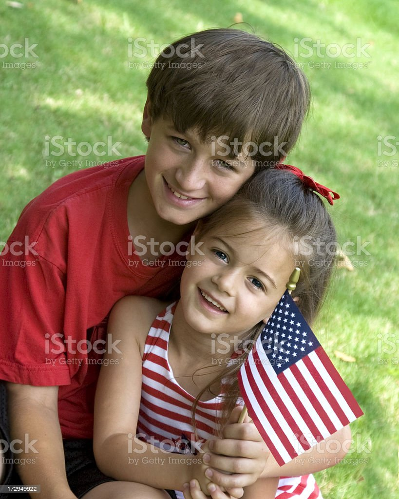 Ready for the 4th royalty-free stock photo
