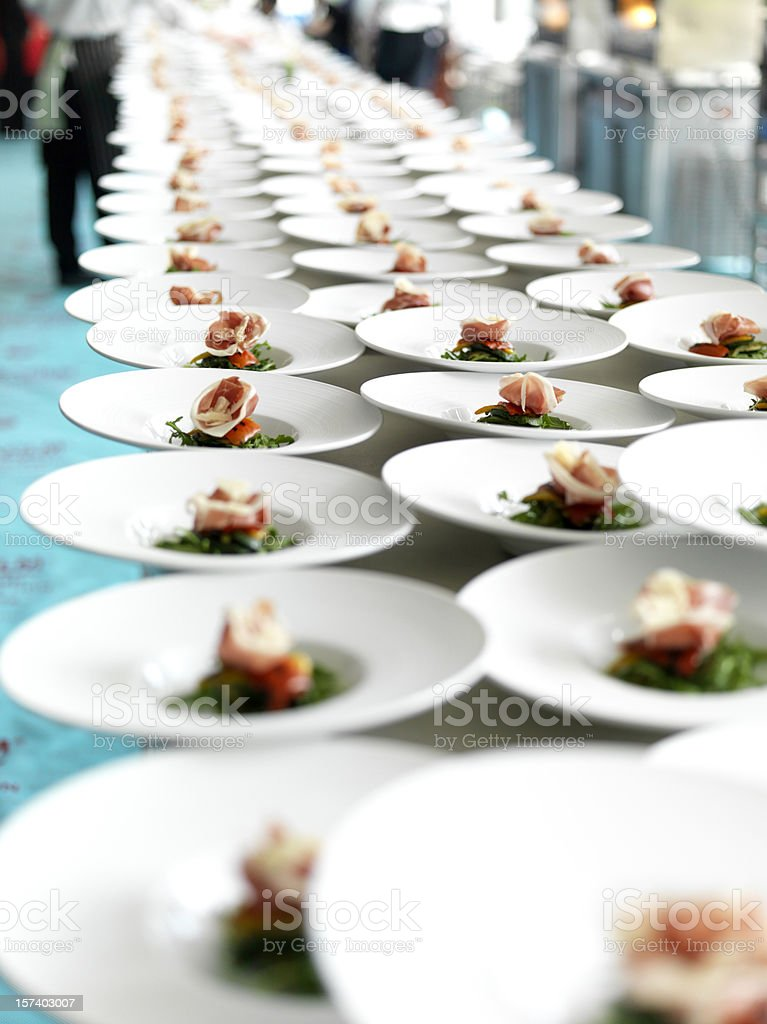 Ready for the Banquet royalty-free stock photo