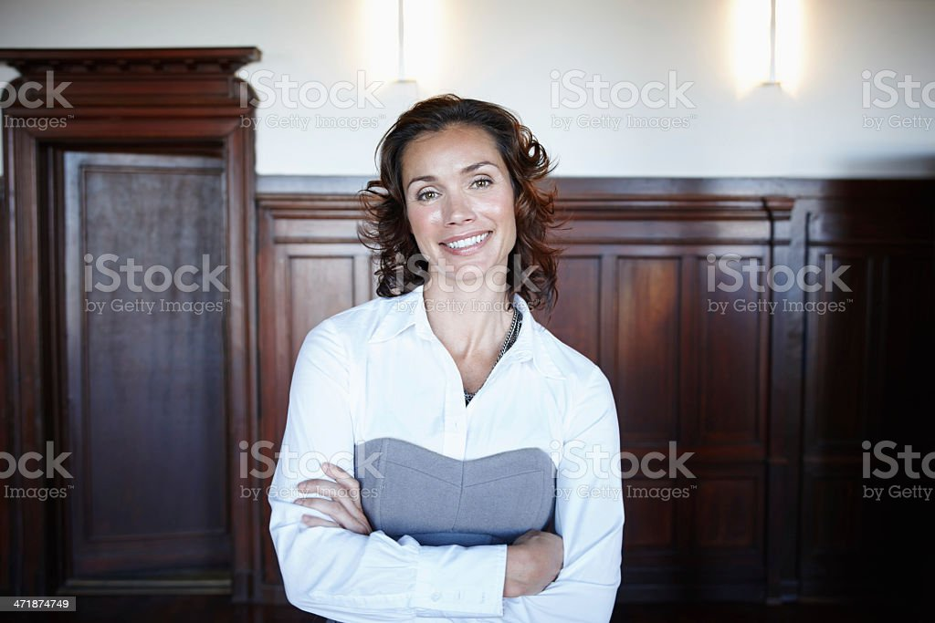 Ready for the judge royalty-free stock photo