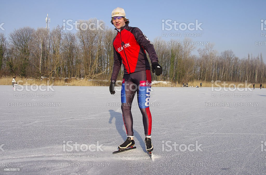 Ready for the race royalty-free stock photo
