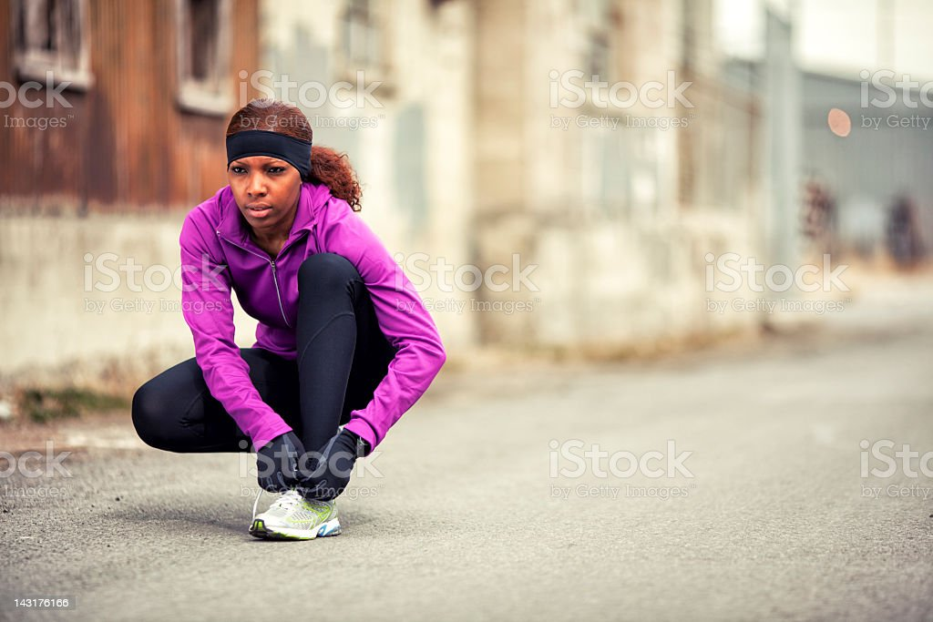Ready for the Run royalty-free stock photo