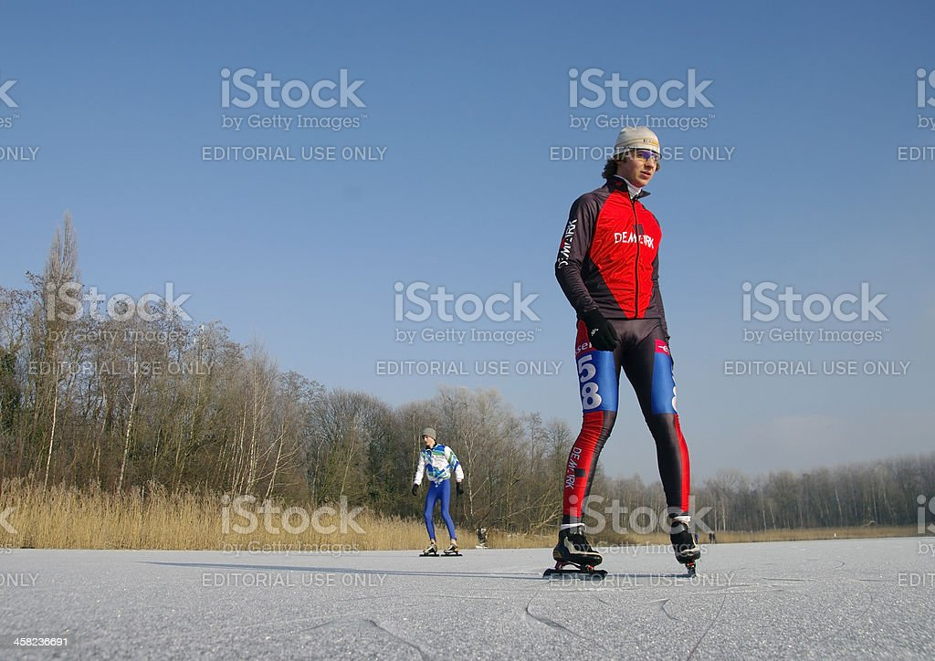 Ready for the start royalty-free stock photo