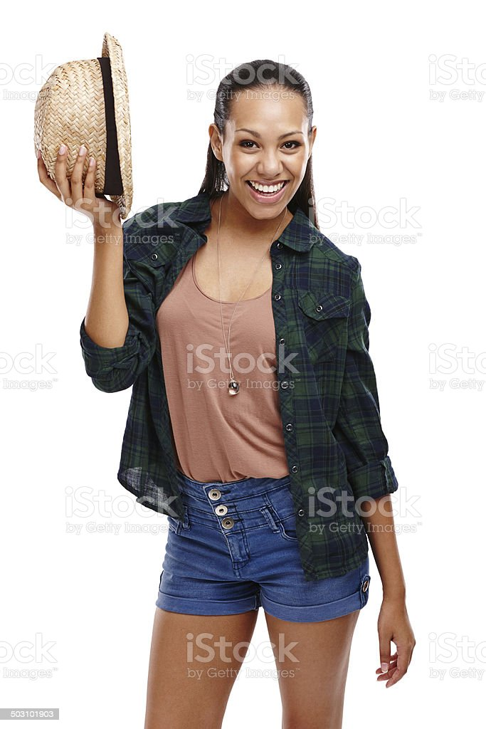 Ready for the weekend stock photo