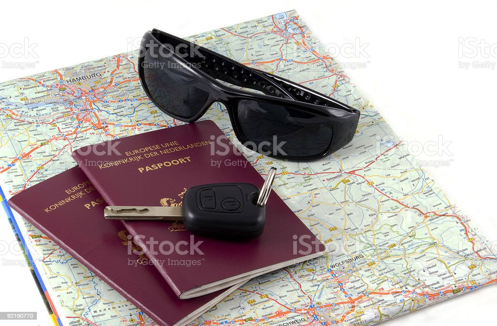 Ready for travel. royalty-free stock photo