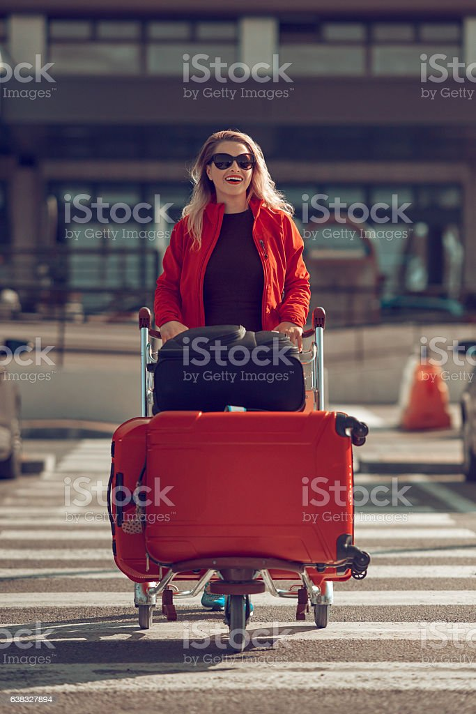 ready for vacation stock photo