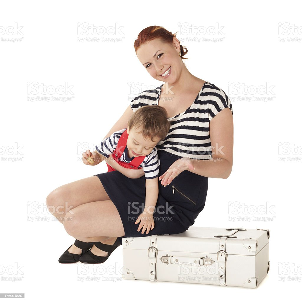 Ready for vacations royalty-free stock photo