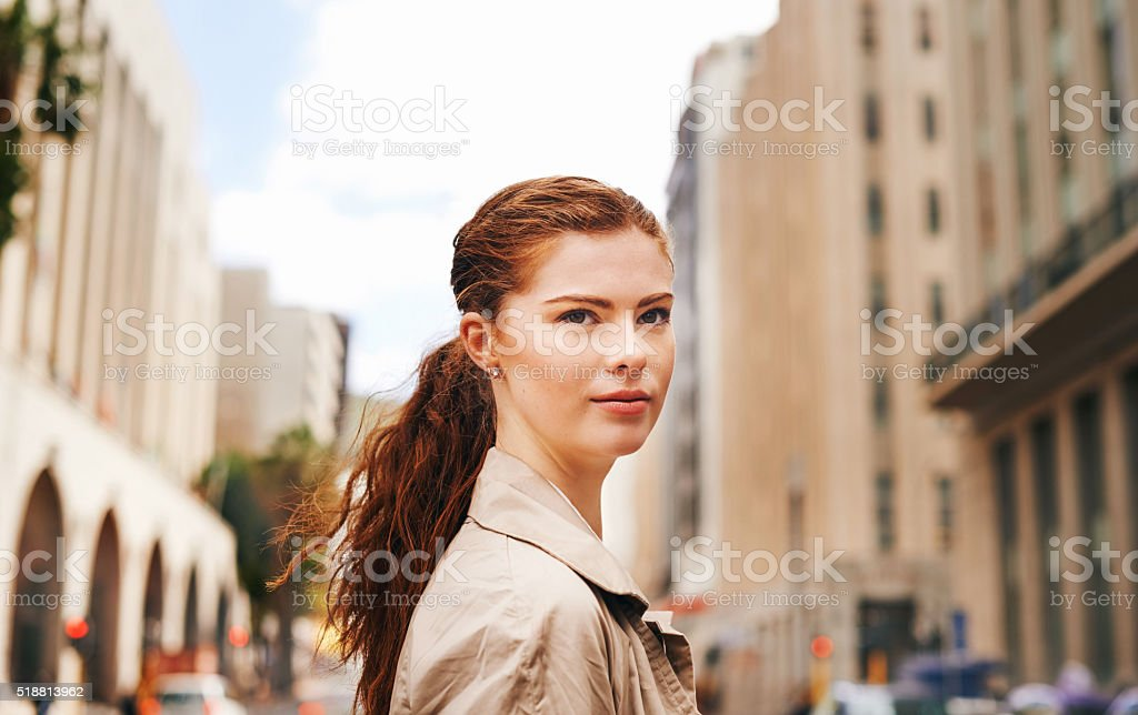 Ready for what the city has to offer stock photo