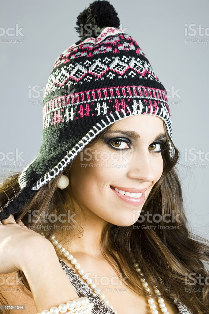 Ready for winter royalty-free stock photo