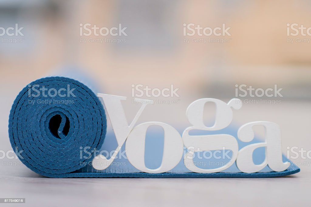 Ready for Yoga stock photo