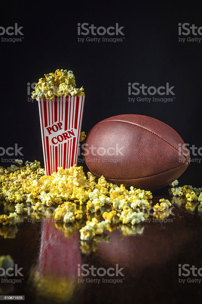Ready Set Popcorn stock photo