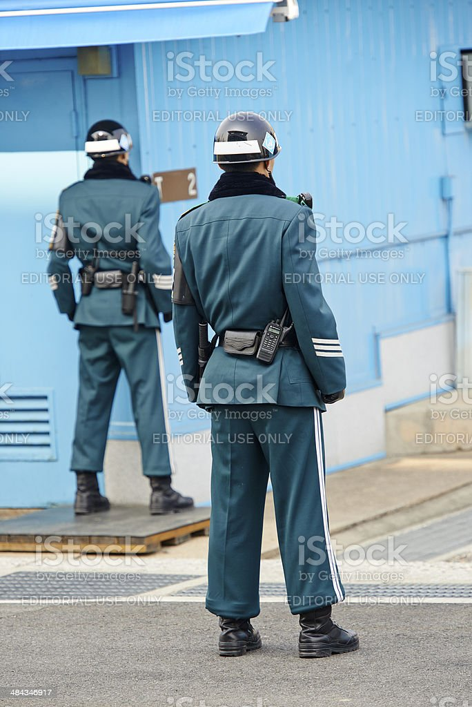 'ROK' Ready Soldiers stock photo